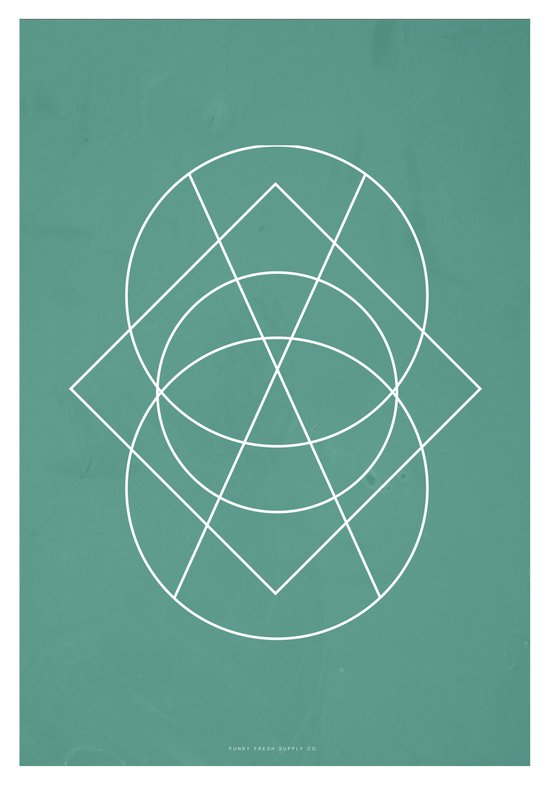 Geometric No.3 Art Print