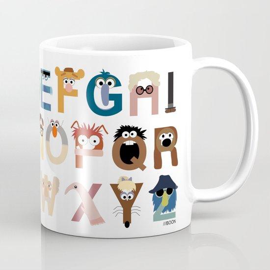 Muppet Alphabet Mug