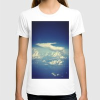 Cloud Womens Fitted Tee White SMALL