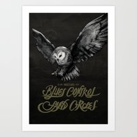 Blues Control + Sand Cir… Art Print