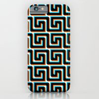 iPhone & iPod Case featuring Pixel Wave no.3 by athomahawk