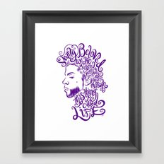Dearly Beloved Prince Framed Art Print
