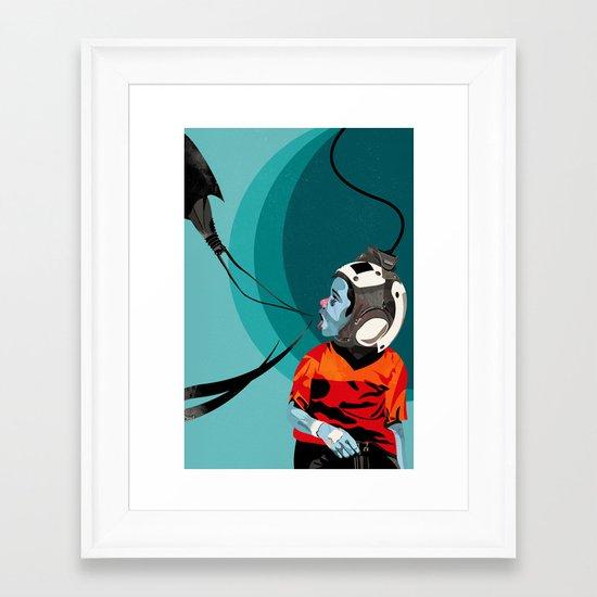Checkup12 Framed Art Print