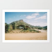 Shed Mountain Art Print