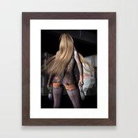 Pistol Survivor Framed Art Print