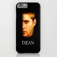 iPhone & iPod Case featuring Dean Winchester / Supernatural - Painting Style by ElvisTR
