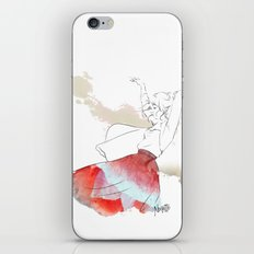 Dancing in the poppies iPhone & iPod Skin