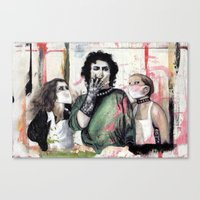 The Rocky Horror Picture… Canvas Print