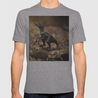 Raptor Mens Fitted Tee Athletic Grey SMALL