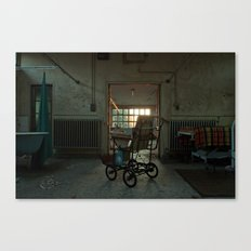 Jesus Wheels Canvas Print