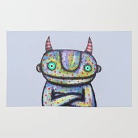 Devil with Good Intentions Rug