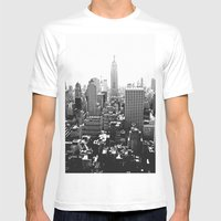 sightline Mens Fitted Tee White SMALL
