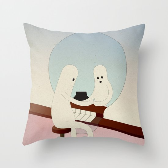 r i f l e s s o c o n d i z i o n a t o Throw Pillow