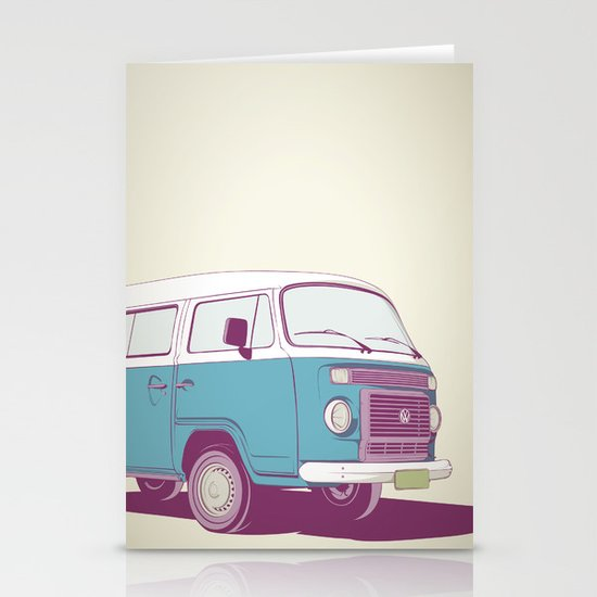 VW Combi v.02 Stationery Card