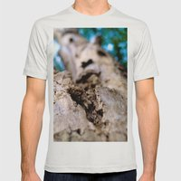 Tree Mens Fitted Tee Silver SMALL