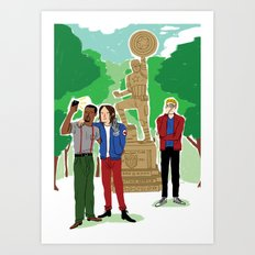 Hometown Pride Art Print