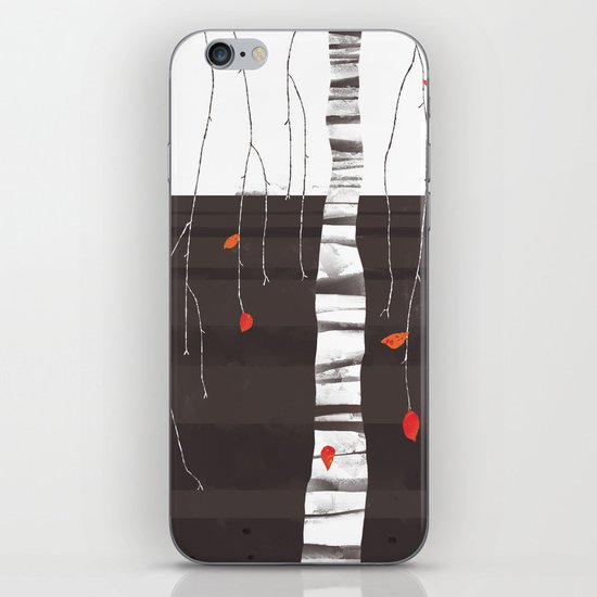 The last of the leaves. iPhone & iPod Skin