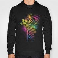 Zebra Mood Technicolor Hoody