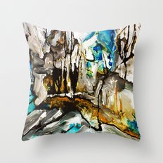Hinze Dam Throw Pillow