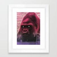Demon Days Framed Art Print