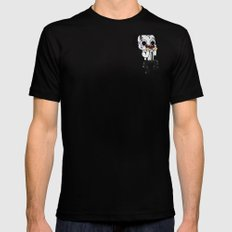 Normalhands Black Mens Fitted Tee SMALL