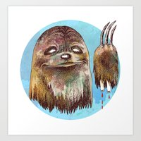 Sloth Pride Art Print