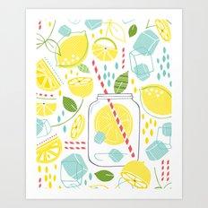 Summer Sippin' Art Print