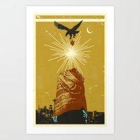 SEATTLE MYSTIC Art Print