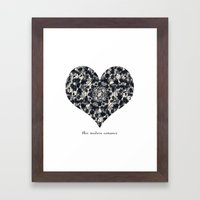This Modern Romance Framed Art Print