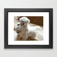 What? Do I have to stop! Framed Art Print