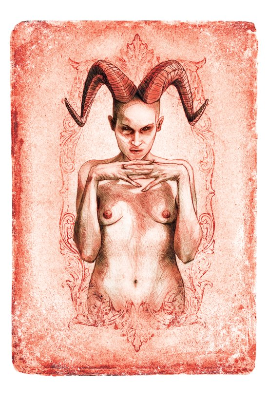 BABALON (The Scarlet Woman) Art Print