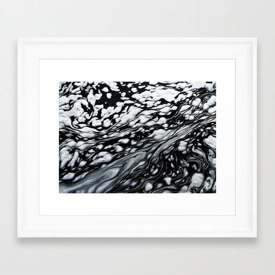 Suds Framed Art Print