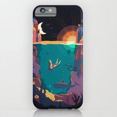 Underwater letter U iPhone 6 Slim Case