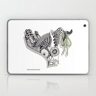 Zentangle Illustration -… Laptop & iPad Skin