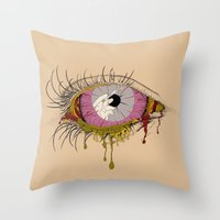 Sight of the Surgeon Throw Pillow