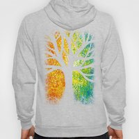 Stencil Tree Canvas Hoody