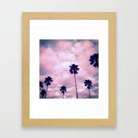 More Palms II Framed Art Print