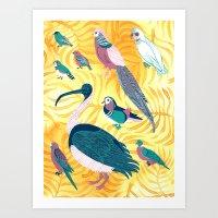Aviary I Art Print