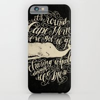 iPhone Cases featuring Cape Horn by Jon Contino