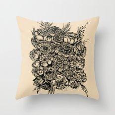 Wedding Flowers  Throw Pillow