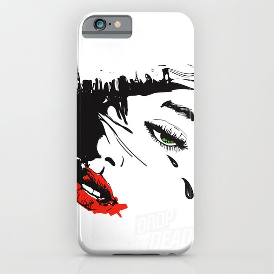 drop dead gorgeous - femme fatale iPhone & iPod Case