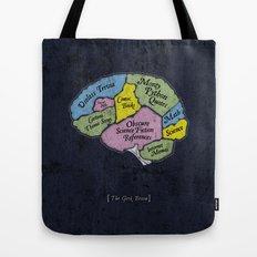 The Geek Brain Tote Bag