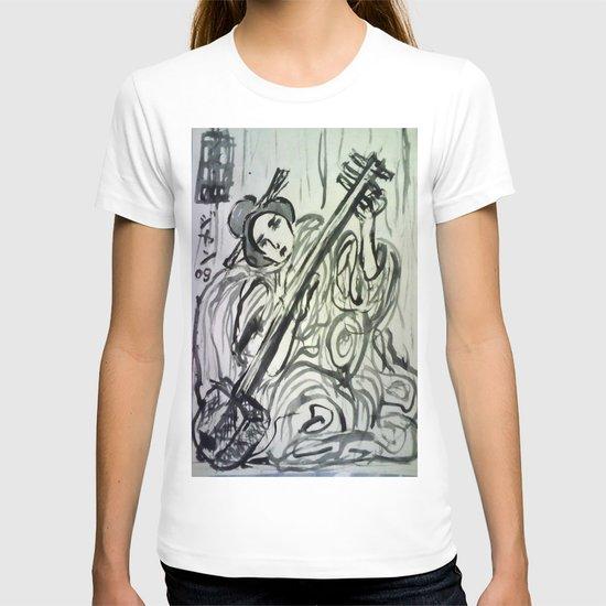 GEISHA MUSICIAN T-shirt