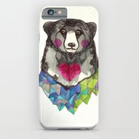iPhone & iPod Case featuring Bear yeah by Jo Cheung Illustration