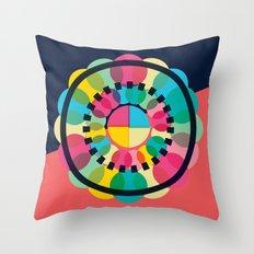 Circle of Circle Throw Pillow