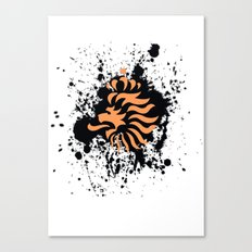 knvb royal lion Canvas Print