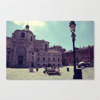 Lazy Venice Canvas Print