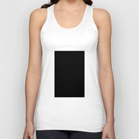 Black #4 (Ink) Unisex Tank Top