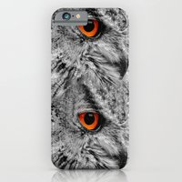 iPhone Cases featuring ORANGE OF MY EYE by Catspaws