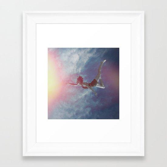 ECHO // Framed Art Print